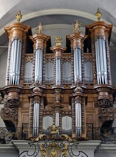 """""""France's finest classical organ in working order, this instrument is an object of pilgrimage for organists, on the tour path for any serious fan of Couperin. Built for the convent of Les Jacobins in Toulouse in 1683, it was rebuilt and restored by various builders until its complete restoration in 1983. It can now be seen and heard at the church of St Pierre des Chartreux in Toulouse."""""""