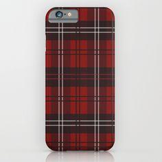 Lumber Jack Plaid iPhone & iPod Case