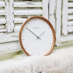 London clock Wandklok - Oslo - Hout London Clock, Decor, Decoration, Decorating, Deco