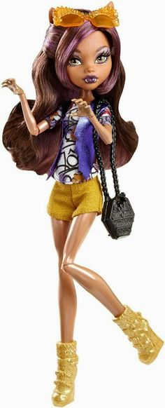Clawdeen Wolf Boo York, Boo York Frightseers Monster High Doll, 2015 ($15 at Toysrus.com. I bought her on sale for $12.)