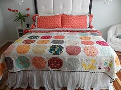 Verna's quilt and great shams