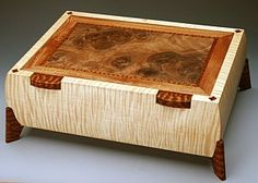 Handmade Wooden Jewelry Boxes - Something Knox might make.