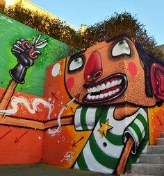 One Man Band – Le Street Art par Mister Thoms