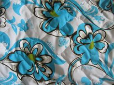 """$41.95 - Water-Resistant + Quilted 2PC - """"BLUE - ALOHA"""" Hawaiian Car Seat Covers!"""