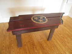 Wooden Tennessee State Flag Table on Etsy, $200.00. Would love to have this!