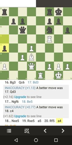 Qf4 Threatening R x Nf6 followed by Mate in 2 ( Qf5) if g6 x R Chess Tactics, Periodic Table, Periodic Table Chart, Periotic Table