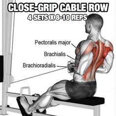 Back Workout But Slightly Different Part 6! Close-Grip Cable Row