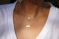 Layered Necklace Set  Set of 3 Necklaces with Mini by EandEProject, $65.00 LOVE