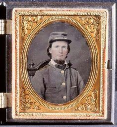 Corporal Newton Atlas Branch, Co. D 6th NC Infantry Regiment. From Burke County, NC.