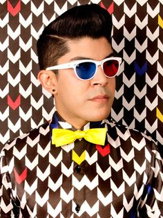 Fashion designer Mondo Guerra...from project runway
