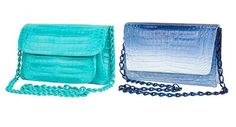 Punchy Exotic Skin Handbags - This Nancy Gonzales Collection Offers this Summer's Hottest Bags (GALLERY)