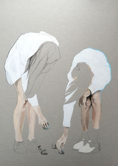 Agata Wierzbicka - interesting use of negative space
