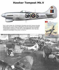 Ww2 Aircraft, Fighter Aircraft, Military Aircraft, Hawker Tempest, Hawker Typhoon, Hawker Hurricane, The Spitfires, War Thunder, Ww2 Planes