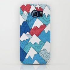 Mountain Pattern 2.0  Galaxy S6 Slim Case