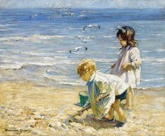 Dorothea Sharp - By the blue sea