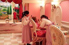 Hong Kong Disneyland Bibbidi Bobbidi Boutique Princess Dress Up