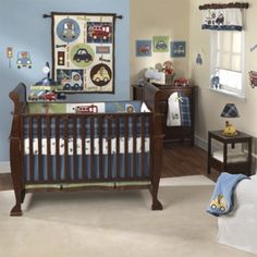 Special offers available click image above: closeout! lambs and ivy 5 piece baby crib bedding set in vroom car baby boy nursery bedding, 15 best baby Baby Boy Crib Bedding, Baby Boy Cribs, Nursery Bedding Sets, Baby Bedroom, Bedding Decor, Nursery Crib, Bedroom Kids, Baby Boy Nursery Themes, Baby Boy Rooms