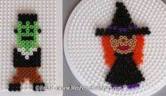 Perler Bead Art, Perler Beads, Hama Beads Halloween, Hama Beads Design, Iron Beads, Melting Beads, Perler Patterns, Fuse Beads, Halloween Themes