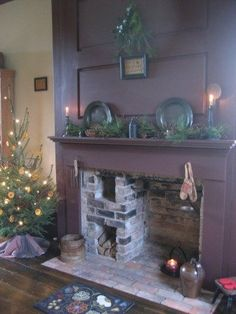 My good friend michelles wonderful fireplace in her last home