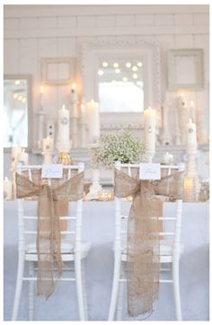 Rustic Wedding Decorations - Rustic Country Wedding Decor and Photos Champagne Wedding Colors, Bling Wedding, Chic Wedding, Wedding Events, Our Wedding, Dream Wedding, Indoor Wedding, Wedding Reception, Wedding Burlap