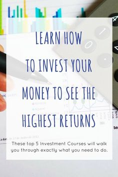 Investing can be the ticket to creating financial freedom for yourself and securing your future and retirement. Learn from the investing experts, and see what steps you should be taking, whether it be different tactics in the stock market or real estate i