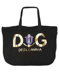 Delta Gamma Lei Tote Bag