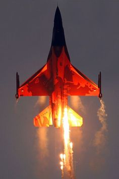 General Dynamics F-16AM Fighting Falcon Netherlands Royal Air Force J-015 by curimedia