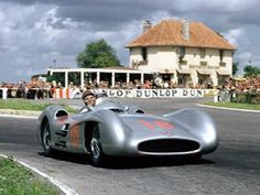 "1954 GP Francji (J.M. Fangio) Mercedes W196 ""Streamliner"""
