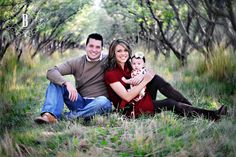 adorable family of 3 photo