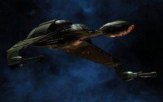 Klingon Bird-of-Prey Retro B'Rel Class wallpaper 1 by Drzu@DeviantArt