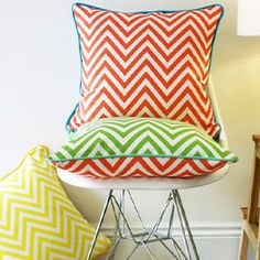 10 Easy ways to add chevron prints to your home 2