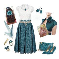 Teal and Lace