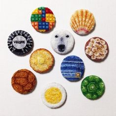 project - ipnot Punch Tool, Hand Embroidery, Embroidery Ideas, Punch Needle, Needlepoint, Minis, Needlework, Patches, Textiles