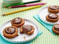 Chocolate Peanut Butter Cup Cookies Recipe : Ree Drummond : Food Network