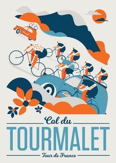 Image of Col du Tourmalet / Classic Climbs by Neil Stevens