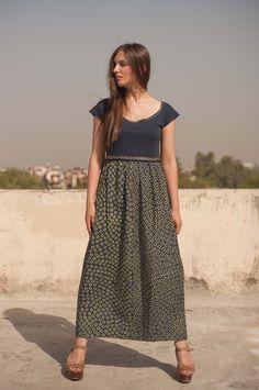 Rajasthani bandhani maxi dress. see more at www.wearexample.com