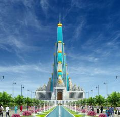 Vrindavan Chandrodaya Temple : World's tallest temple is under construction in Vrindavan, India ( An artist's impression)