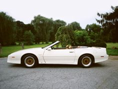 "Pontiac Firebird Trans Am Turbo Convertible ""20th Anniversary"" '1989"