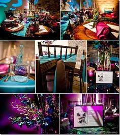 The Wedding Colors (Teal, Purple, Bronze)