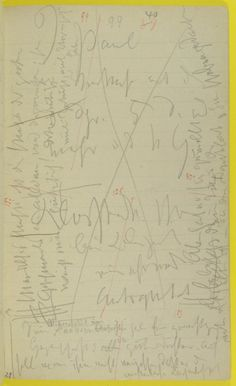 page from one of Nietzsche's notepads (c. 1879)