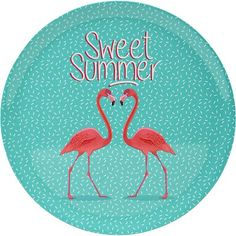 assiette et couverts pour une table bien dress e pink flamingo flamant rose pinterest. Black Bedroom Furniture Sets. Home Design Ideas