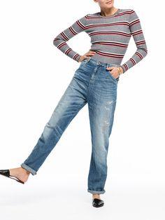 Rib Knit Pullover