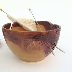 Autumn Gold LARGE 8 1/2 Handmade Pottery Yarn Bowl by BlueRoomPottery | BlueRoomPottery... plus (+)