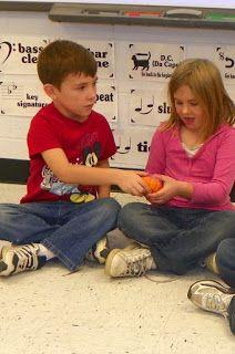 Mrs. King's Music Class: Pass the Pumpkin