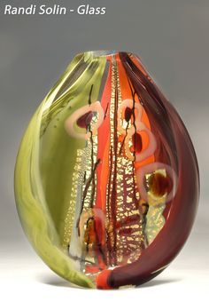 Bethesda Row Arts Festival - Oct. 19 & 20 - Randi Solin - Glass - www.bethesdarowarts.org