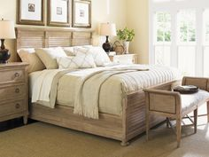 The Cypress Point Bed is a harmonious balance between traditional and contemporary design with its perfect blend of timeless decor elements and clean, architectural lines.