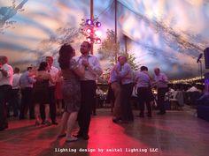 A sailcloth wedding tent at The Mount with lighting design by Seitel Lighting LLC. Wedding Tent Lighting, Tent Wedding, Sailing Outfit, Lighting Design, Beautiful, Light Design