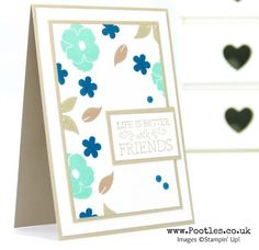Stampin' Up! Demonstrator Pootles - Lots of Love with Just Add Text and More!