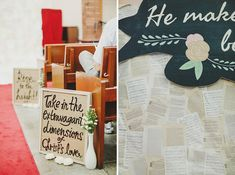 Joel and Pam's Handcrafted Wedding at Food for Thought