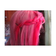 Tumblr cute pink hair- {&ɨʈ'ʂ} [ Ɛɱɨƪƴ ] ★ღ☮ ™ ❤ liked on Polyvore